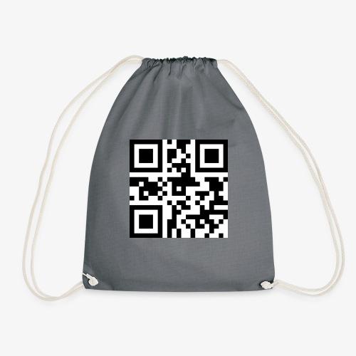 QR Code Unique - Drawstring Bag