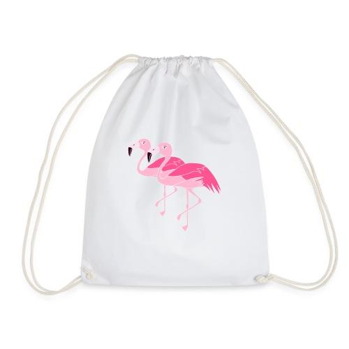 Flamingos - pink - Turnbeutel
