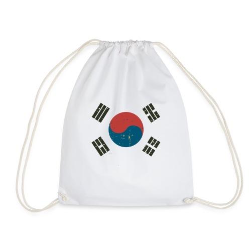 Proud To Be A South Korea. - Drawstring Bag