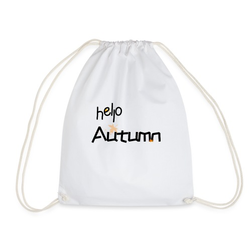 Hello Autumn hallo Herbst - Turnbeutel
