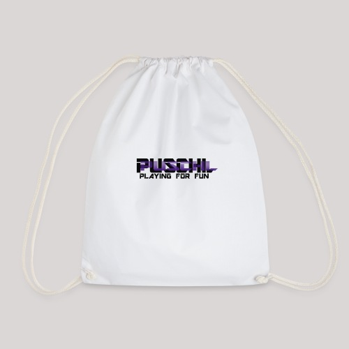 Das Puschl Logo - Turnbeutel