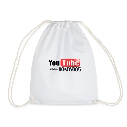 16482 2CYouTubecom RONDY005 - Drawstring Bag