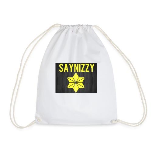 Say nizzy - Drawstring Bag