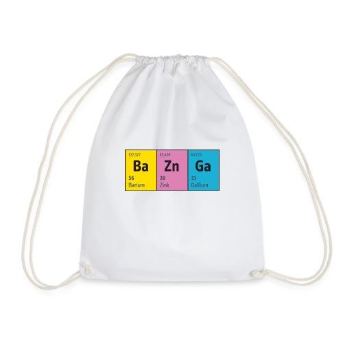 Periodensystem BaZnGa Nerd Geek Big Bang Urknall - Drawstring Bag
