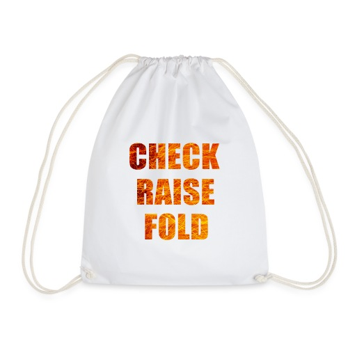 Check Raise Shirt - Drawstring Bag