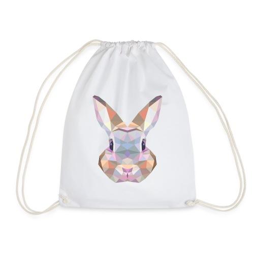 Triangle vector bunny - Sacca sportiva