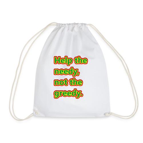 help - Drawstring Bag