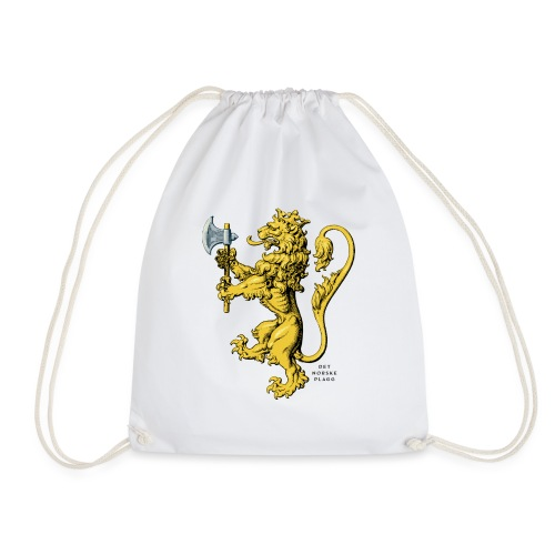 Den norske løve i gammel versjon - Gymbag