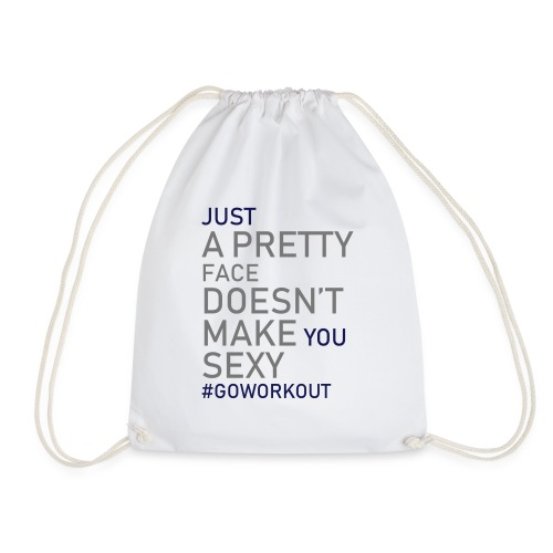 Just a pretty face... - Drawstring Bag