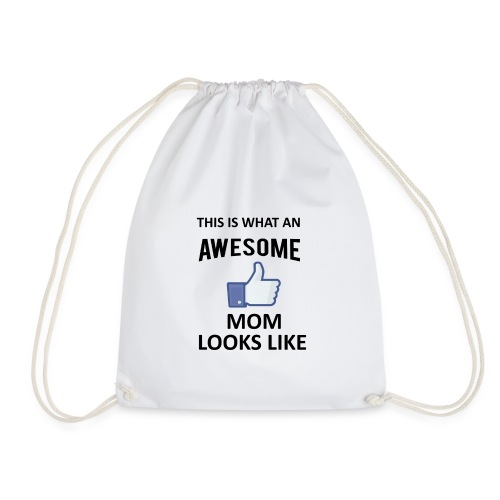 Awesome Mom - Turnbeutel