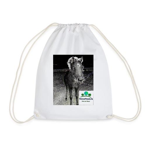 RescuePlanetLife Pferd-Design - Turnbeutel