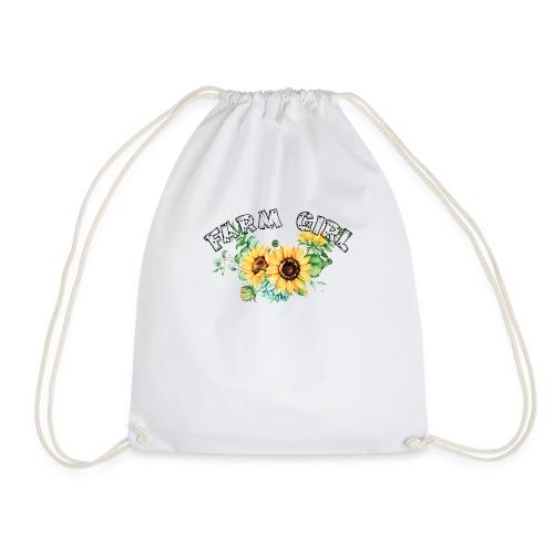 Farm Girl - Drawstring Bag