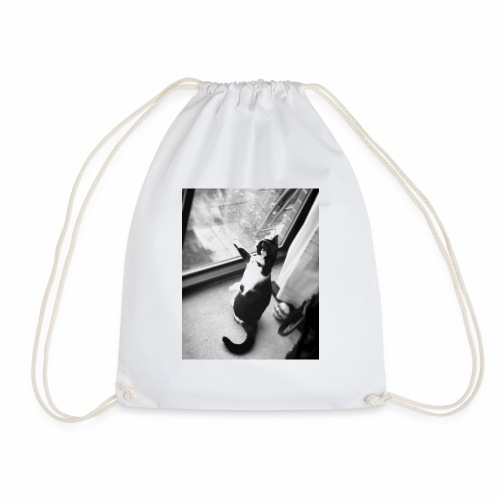 pussy cat - Drawstring Bag