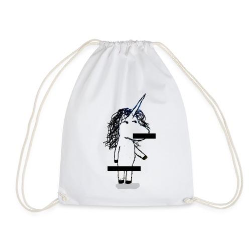 unicorno Censored - Sacca sportiva