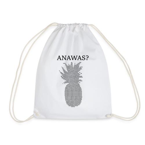 ANAWAS Ananas Fruits Buntmensch Geschenkidee - Turnbeutel
