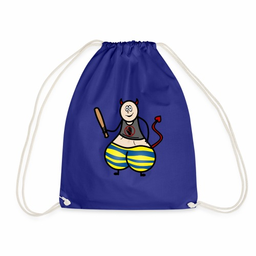 Devil No Touchies Charlie - Drawstring Bag