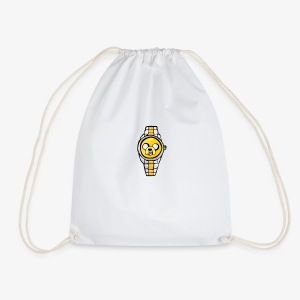 Jake the dog watch - Drawstring Bag