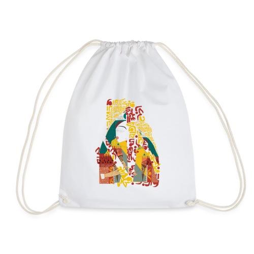 G'sab - Queen of Arabic Letters - Drawstring Bag