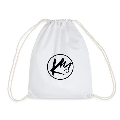KEITH MACLEOD MUSIC - LOGO - Drawstring Bag