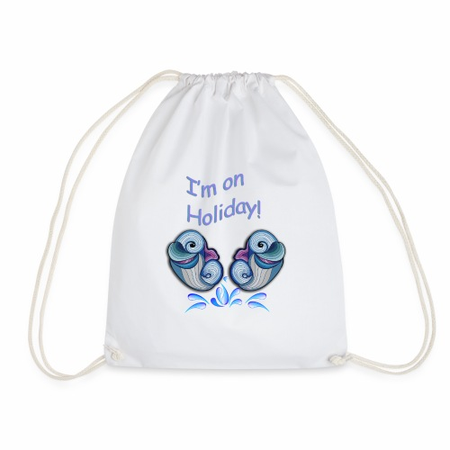 I'm on holliday - Drawstring Bag