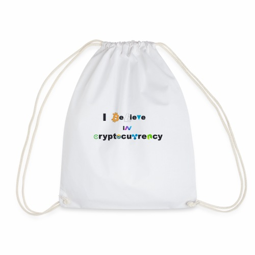 I believe in Cryptocurrency Stofftasche Kyptowähr - Turnbeutel