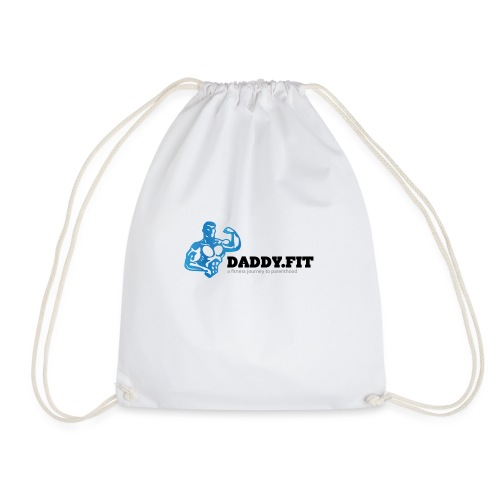 Daddy Fit Logo - Drawstring Bag