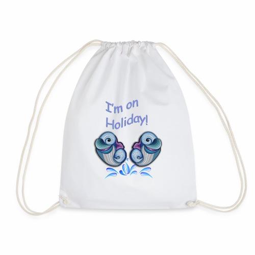 I'm on holliday - Drawstring Bag