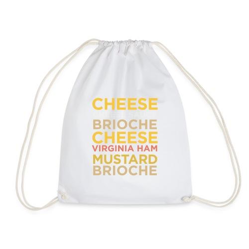 Croque Madame - Drawstring Bag