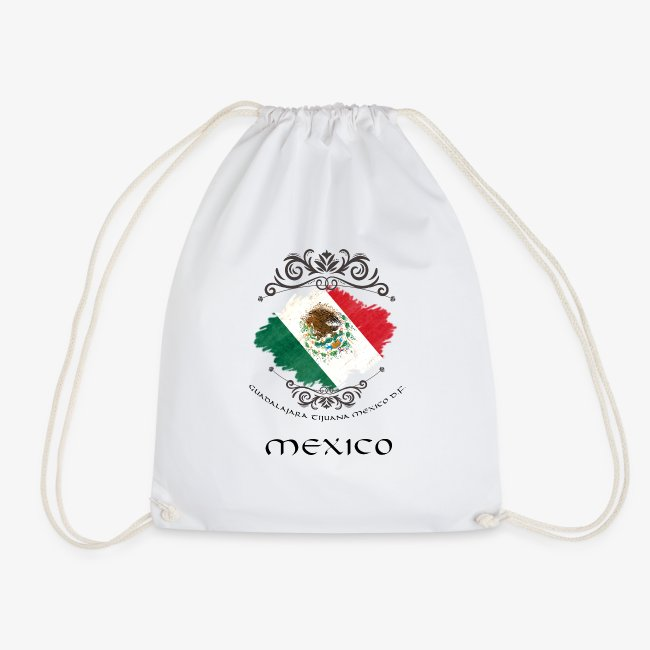 Mexico Vintage Bandera
