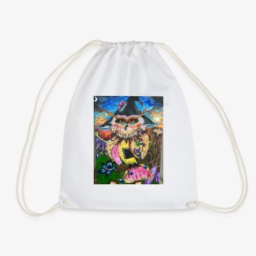 Witchy Wisdowl - Drawstring Bag