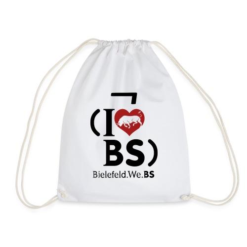 I don't love BS - Drawstring Bag