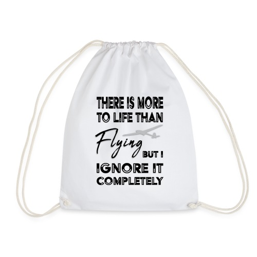 There is more than fly - Drawstring Bag