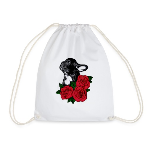 The French Bulldog Is So Famous - Drawstring Bag