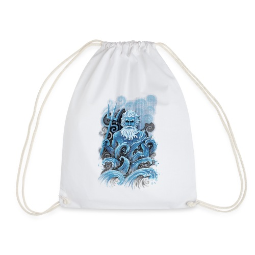 Poseidon - Drawstring Bag