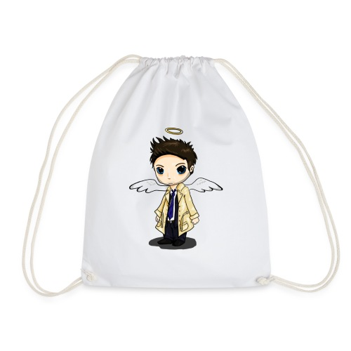 Team Castiel (dark) - Drawstring Bag