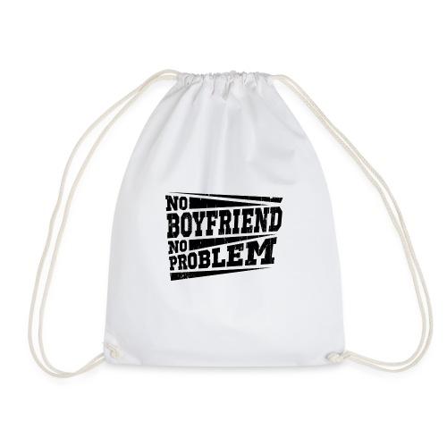 No Boyfriend No Problem - Turnbeutel