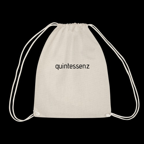 quintessenz black - Turnbeutel