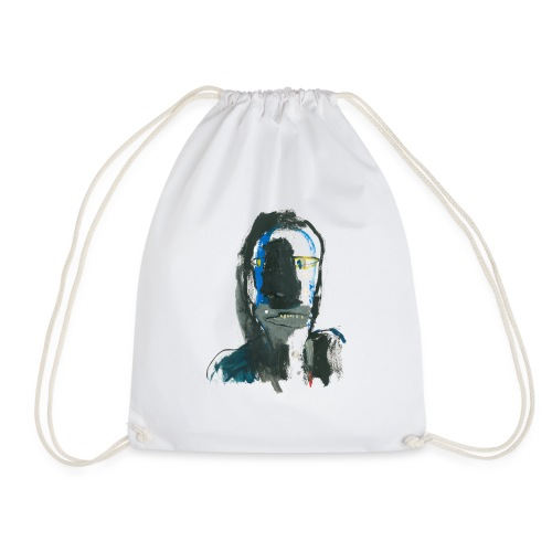 Portrait 07 - Drawstring Bag