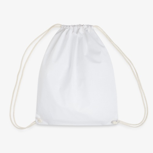 logo round w - Drawstring Bag