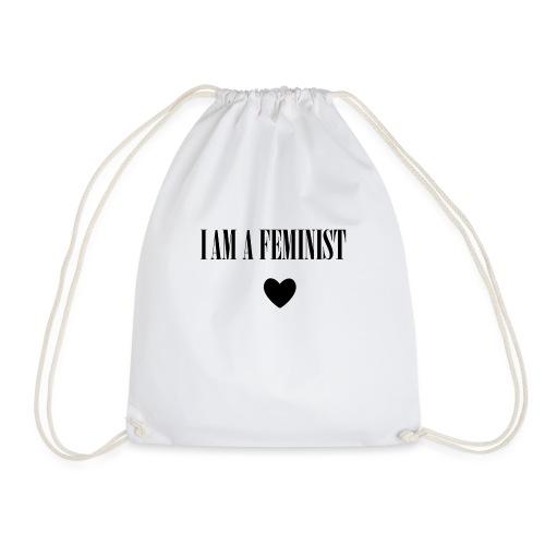 BAG I AM A FEMINIST - Gymtas