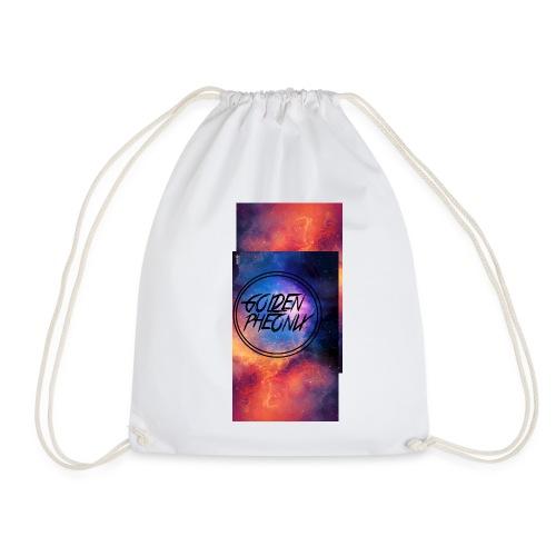 Untitled gedrsdeg png - Drawstring Bag