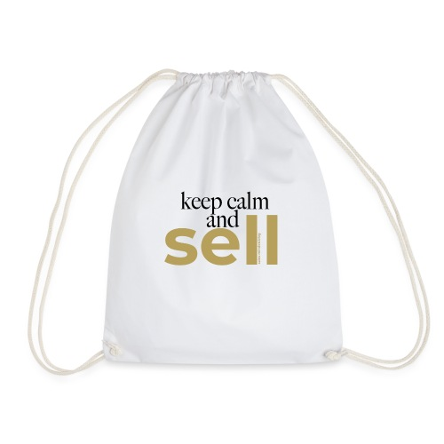 Keep calm and sell - Turnbeutel