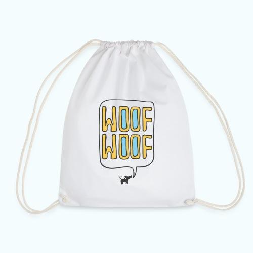 Woof Woof - Drawstring Bag