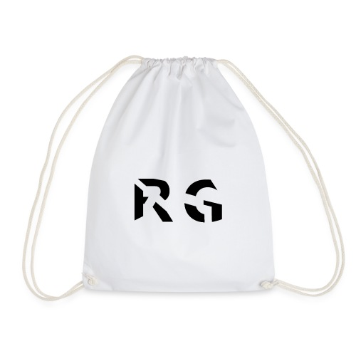 RG Zwart logo - Gymtas