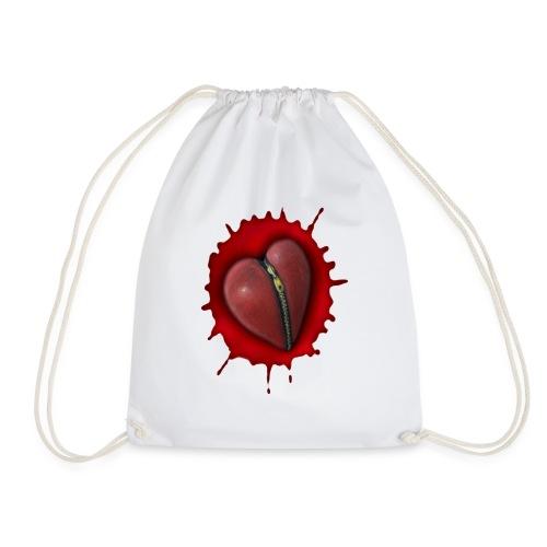Pastel Heart - Drawstring Bag