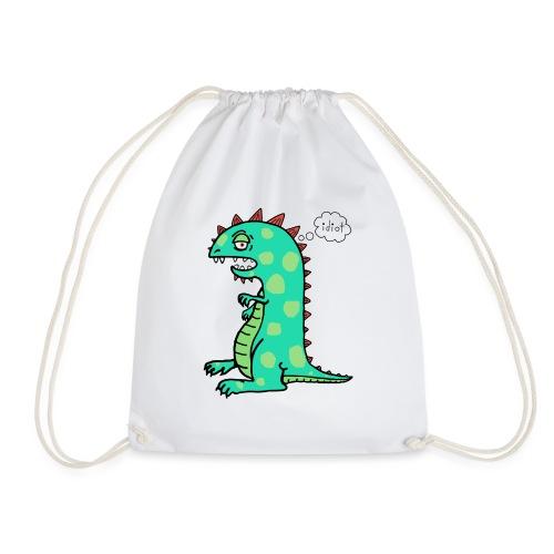 squishy idiot - Drawstring Bag