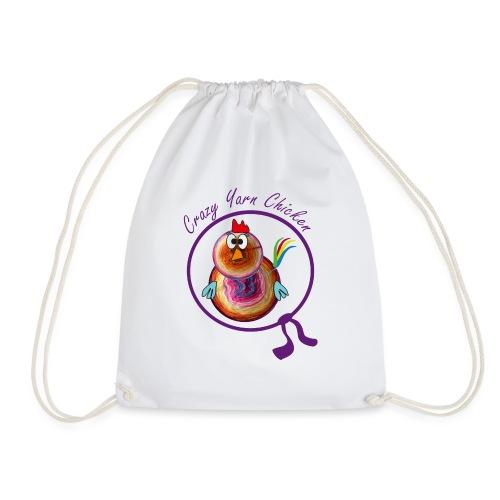 Crazy Yarn Chicken 2 - Turnbeutel