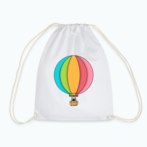 Zebra Zach Air Balloon - Gymnastikpåse