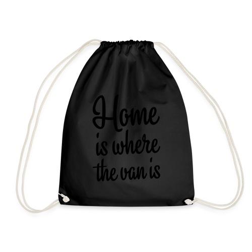 Home is where the van is - Autonaut.com - Drawstring Bag