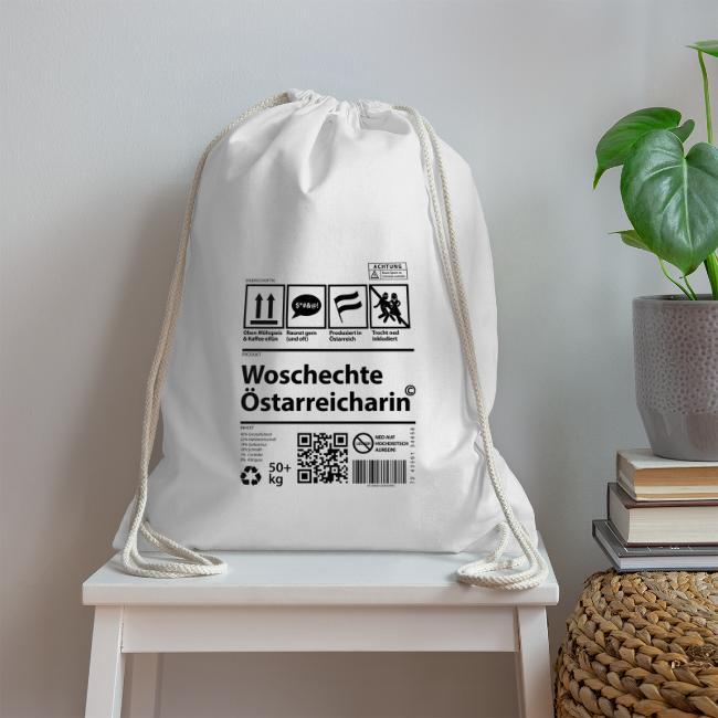 Vorschau: Woschechta Österreicha - Turnbeutel